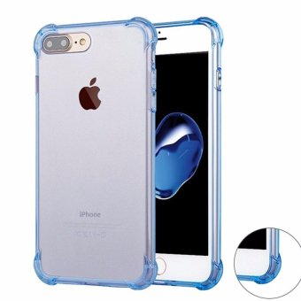 iPhone 7 Plus Case GiMi Shock Absorption Bumper Soft TPUAnti-Scratch Cover Case for iPhone 7/ 7 Plus (Clear) - intl Price Philippines
