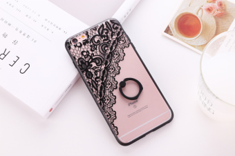 Iphone6/6plus lace flower Apple protective case phone case