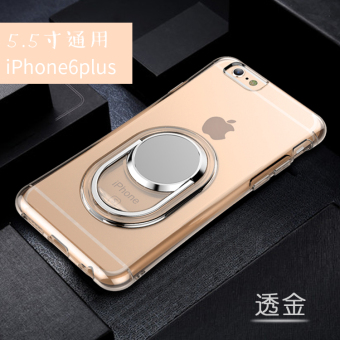 Iphone6/6plus silicone transparent drop-resistant soft case phone case