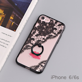 Iphone7plus lanyard ring support protective case phone case