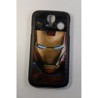 Iron Man3 Face Back Case Cover for Samsung Galaxy S4/i9500