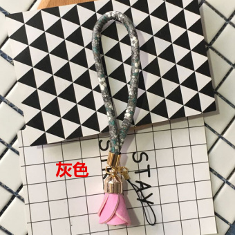 Japan and South Korea flowers mobile phone lanyard decorative chain
