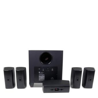 JBL Cinema 610 Advanced 5.1 Home Theater Speaker System withPowered Subwoofer - 2