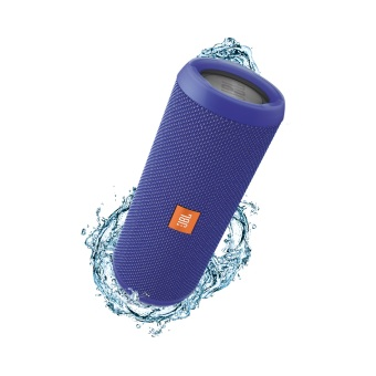 Jbl Flip 3 Bluetooth Speaker (Blue)