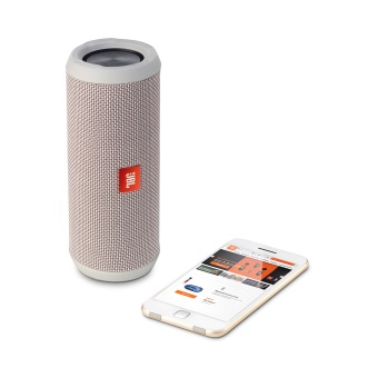 Jbl Flip 3 Bluetooth Speaker (Grey) - 4