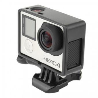 Jetting Buy Standard Frame Border Housing Case Mount For GoPro Hero3 Hero 3 Hero 4 Black