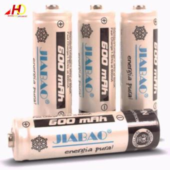 Jiabao JB212 Charger with 4 Pieces 600mAh AA Rechargable Battery - 2