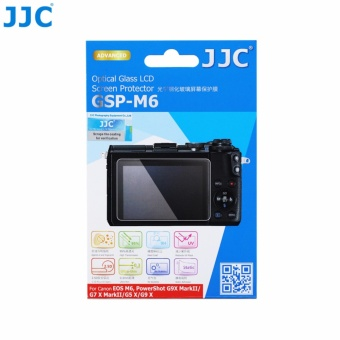 JJC GSP-M6 Ultra-thin LCD Optical Glass Screen Protector For CANONEOS M6, PowerShot G9 X MarkII / G7 X MarkII /G5 X/ G9 X - intl