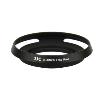 JJC LH-S1650 Metal Lens Hood Shade For Sony E PZ 16-50mm f3.5-5.6OSS SELP1650 & Nikon 1 Nikkor 10mm f/2.8 & Samsung 20-50mmf/3.5-5.6 ED II Lens - intl Price Philippines