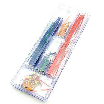 Jumper Cable Wire Kit U Shape Solderless Breadboard 140pcs