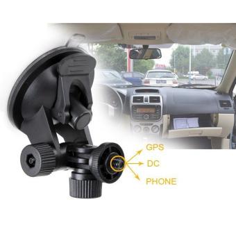 JUSTONE 52mm Car Suction Cup Mount Tripod Holder for DVR / DV / GPS/ Camera / GoPro - Black - 3