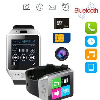 JV08S DZ09 Bluetooth Smart Watch Phone Mate GSM SIM Card For Android IOS