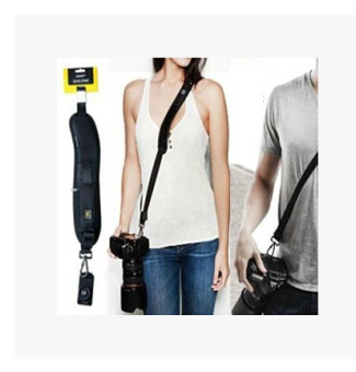 K SLR camera deft shoulder strap