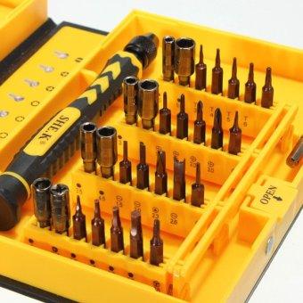 K-Tools 38 in 1 Precision Multifunction Repairing Screwdriver ToolKit (Yellow) - 3