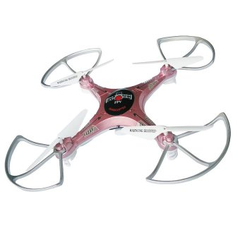 Kai Zheng XX9 Drone 2.4 GHz 6 CH RC Quadcopter with 2Mp Camera (Electric Pink)