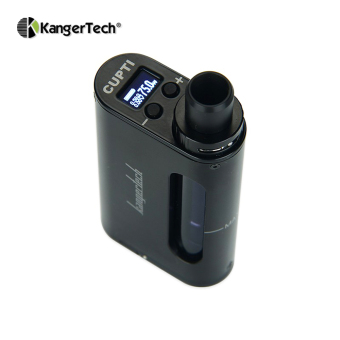Kangertech CUPTI Variable 75W with Temperature Control Electronic Cigarette E-Cigarette Vape Starter Kit (Black) - 2