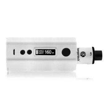 Image Detail Kangertech Dripbox Variable Electronic Cigarette 160W Kit (White) Full