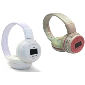 KDS N65 90dB Digital Headset Set of 2 (White and White/Pink)