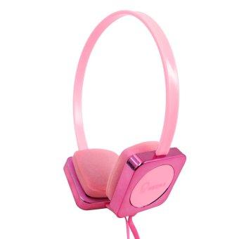KeeKa KE-700 118dB Dynamic Stereo Over-the-Ear Headphones (Pink)