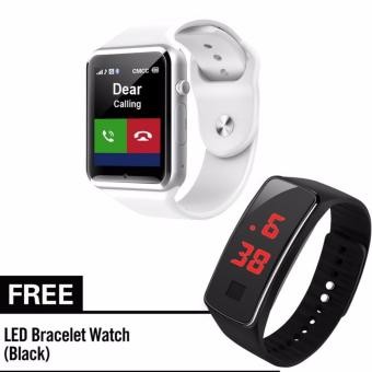 KingDo A1 Bluetooth Smart Watch Phone Wrist Smartwatch Support SIMfor iPhone Android Smartphone