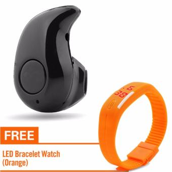 KingDo S530 Bluetooth4.0 In-ear Earphone with Free LED Watch