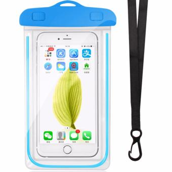 Kingdo Waterproof Cellphone Pouch Glow in the Dark