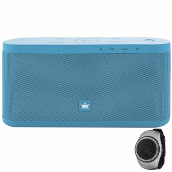 Kingone K9 Portable Bluetooth Speaker (Blue) with LHR B20 Wireless Sports Wristband Bluetooth Music Speaker (Color May Vary) Price Philippines