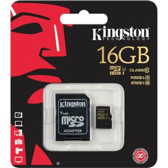 Kingston 16GB Class10 UHS-I High Speed microSD Card w/ Adapter(R/W=90/45MB/s) Price Philippines