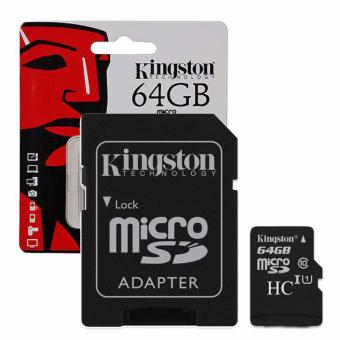 KINGSTON 64GB MicroSD Memory Card Class10 SDHC Micro