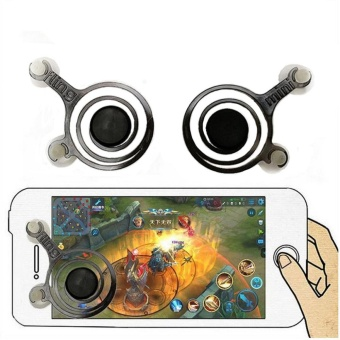 Kitbon Mobile Game Joystick Game Controller for Phone, Pad (1 Pair)- intl