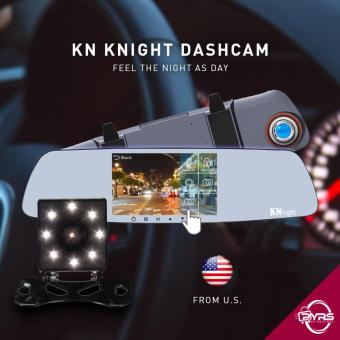 KN R52 Rearview Mirror Dual Dashcam Car DVR Camera