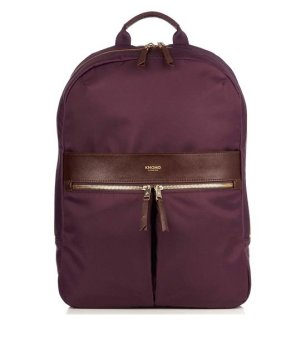 "Knomo Beauchamp 14"" Backpack Aubergine - picture 2"