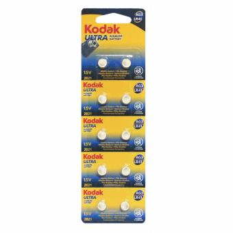Kodak LR41/AG3 Alkaline Cell Button Battery 10 Pieces