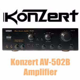 Konzert AV-502B 500W Amplifier (Black) Price Philippines