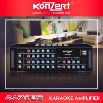 Konzert AV-702B 750W X 2 Karaoke Amplifier Price Philippines