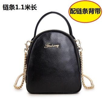 Korean-style soft leather New style chain mini small bag mobile phone bag