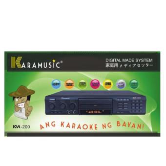 KVISION KARAMUSIC KM-200 ADVANCE USB TECHNOLOGY KARAOKE SYSTEM Price Philippines