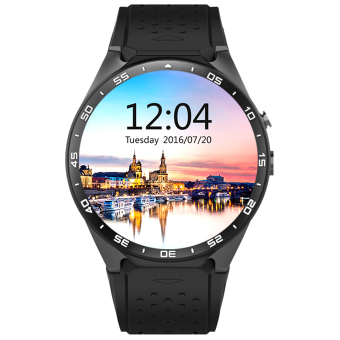 KW88 Android 5.1 OS 3G Smart Watch Phone w/ 512MB RAM, 4GB ROM -Black - intl