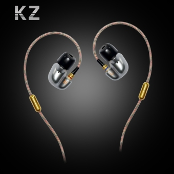 KZ ATE in ear Earphones with Microphone Stereo Bass Headsets(Black) - intl - 3