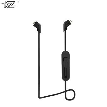 KZ ZST Hybrid Earphone +Bluetooth Wire+Dynamic Drive HI-FI Bass earphones for Sport music smart phones Black Color- intl - 3