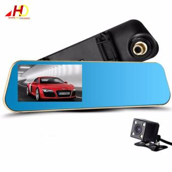 L710 4.3 inch. Full HD 1080P Car Camera Night Vision Car Camera CarDvr Review Mirror Digital Video Recorder with GPS