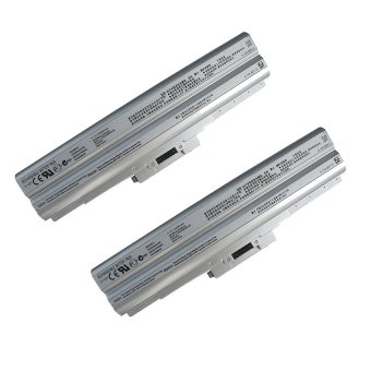Laptop Battery for Sony VGP-BPS13/Q VGP-BPS13A/Q VGP-BPS13B/QVGP-BPS21 Set of 2 sliver Price Philippines