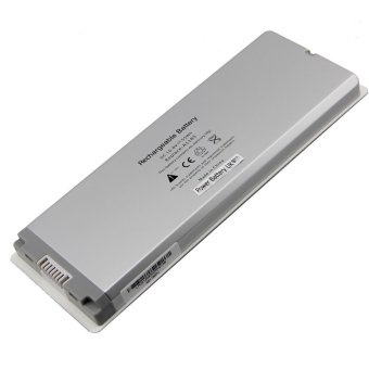 Laptop Battery Suited for Apple Macbook A1185/A1181/MA561/MA566 (White)