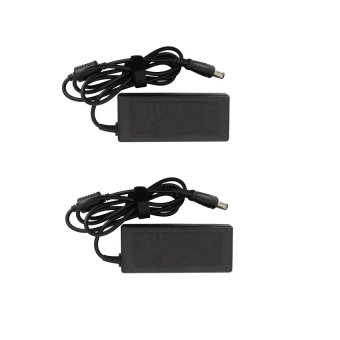 Laptop Charger Adapter for Toshiba Black Set of 2