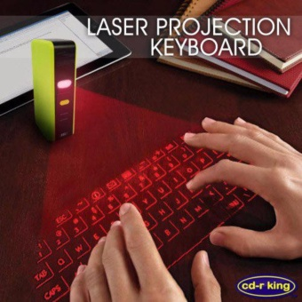 Laser Projection Bluetooth Keyboard with Mouse Function KB-044V-BBM