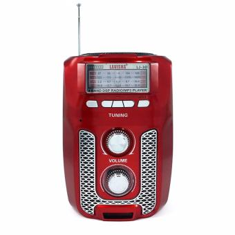 Lavisha LJ-30 500W Portable Rechargeable AM/FM Radio USB/SD MP3Music Player and LED Lamp
