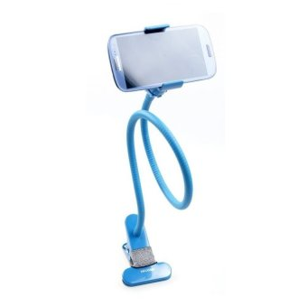 Lazy Pod Mobile Phone Holder with Clip (Blue)