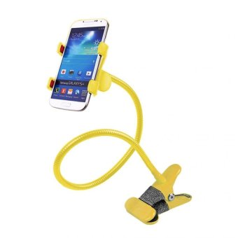 Lazy Pod Mobile Phone Holder with Clip (Yellow)