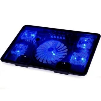 LC Excellent KY-C5 5-Fans LED Notebook Stand/Cooling Pad (Black) Price Philippines
