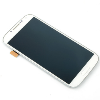 LCD Display Screen Touch Digitizer +Frame For Samsung Galaxy S4i9500(White)